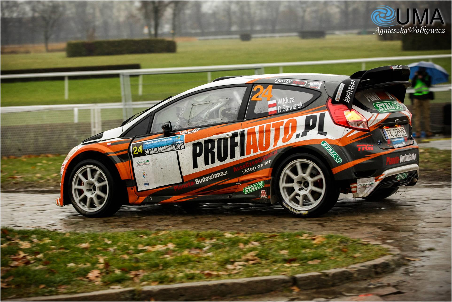 Waldemar Kluza / Daniel Stawiarski - Memoriał 2017 - Ford Fiesta Proto